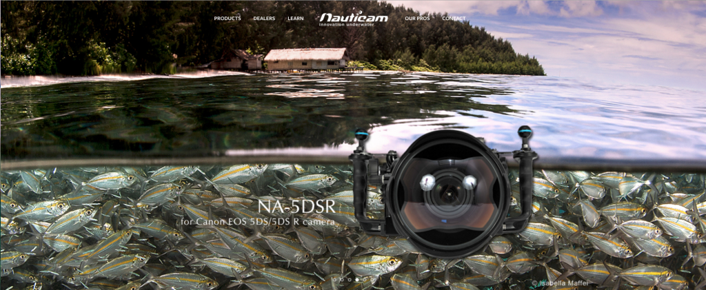 Isabella Maffei-Featured photographer on the official Nauticam website